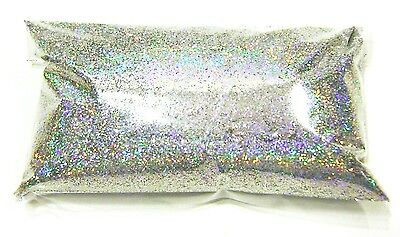 "6oz / 177ml Silver Jewels Holographic Metal Flake .015"" Paint Additive - LF066"