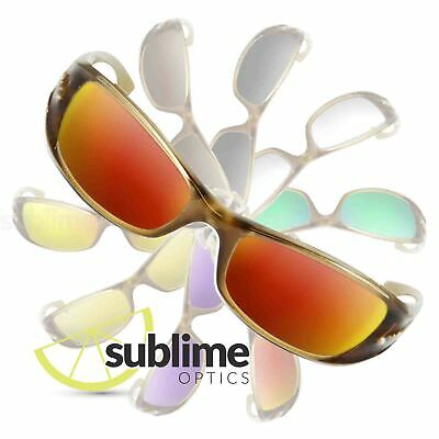 POLARIZED Metallic Fire Red Replacement Lenses For Arnette Stance AN4020