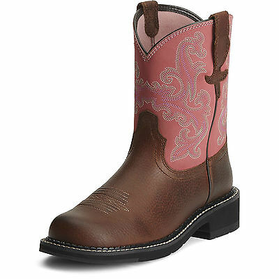 ARIAT - Women's Fatbaby II - Roasted Chestnut / Rose - ( 10010808 ) - New
