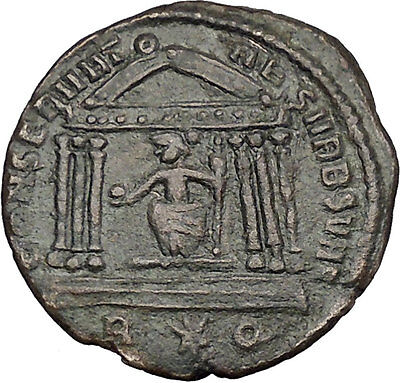 CONSTANTINE I the GREAT as Caesar 307AD Roma Authentic Ancient Roman Coin i43981