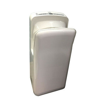 Commercial Grade Bathroom Wall Mounted Automatic Abs Jet Hand Dryer White