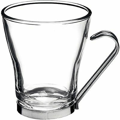 Oslo-cappuccino mug/glass - 220ml- Set of 6