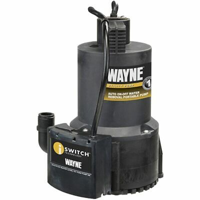 Wayne EEAUP250 - 51 GPM Oil-Free Submersible Automatic Utility Pump