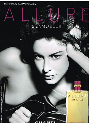 Publicité Advertising 2007 Parfum Allure Sensuelle de Chanel