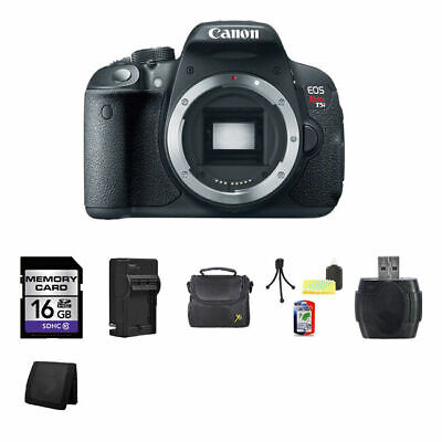 Canon EOS Rebel T5i DSLR Camera 16GB Package