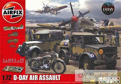 AIRFIX A50157 D-Day The Air Assault Gift Set 1:72