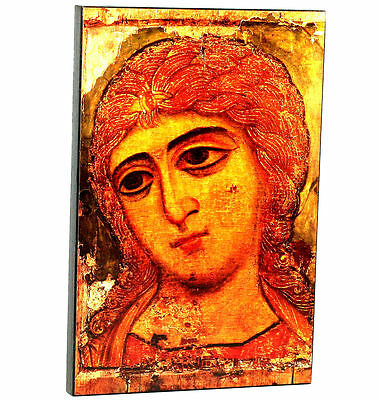 RUSSIAN ORTHODOX ICON - THE ARCHANGEL GABRIEL. Early XII th century. Visit Store