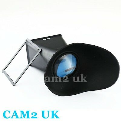 """3"""" LCD Extender Hood Viewfinder Protector for Canon EOS M EF-M digital camera V6"""
