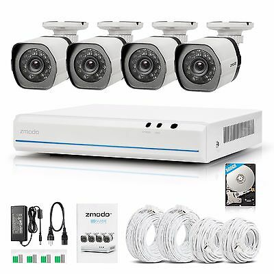 Zmodo 8CH 960H HD Port DVR Outdoor Day Night Outdoor IR Security Camera System