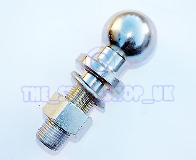 """Tractor Towing Ball Hitch Pin 2 3/4 X 1"""" 50mm ball 5.5"""" overall TMT2103"""