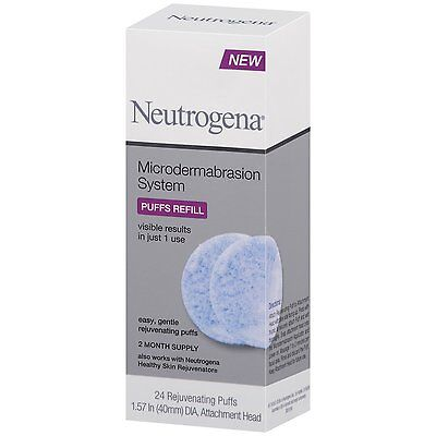 Neutrogena Microdermabrasion System 24 Puffs Refill