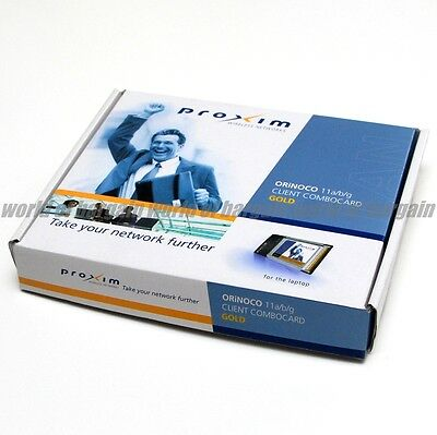 PROXIM ORiNOCO 11 a/b/g Client Combo Card GOLD 8480-FC Wireless Laptop Network