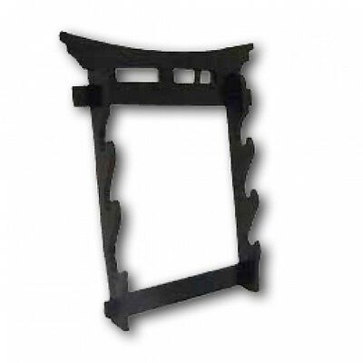 Tori Gate 3 Tier Wall Mounted Swords Display Stand Martial Arts Weapons Rack