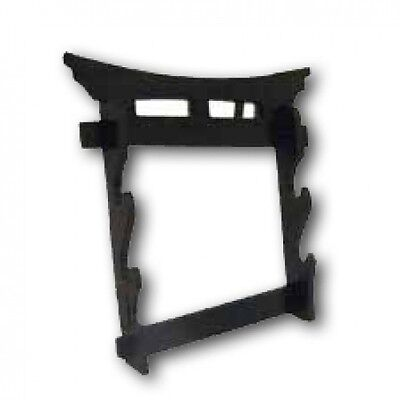 Tori Gate 2 Tier Wall Mounted Swords Display Stand Martial Arts Weapons Rack