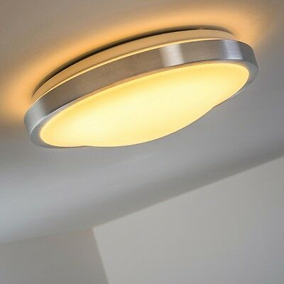 Led ceiling flush light 1x18 Watt IP44 modern lamp bath-room lighting New 92233