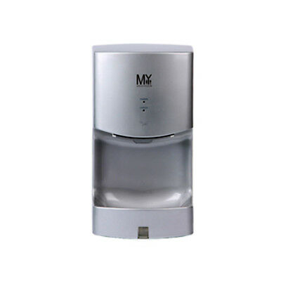 Automatic Jet Hand Dryer Silver Air Filter Water Collection Tray for Bathroom