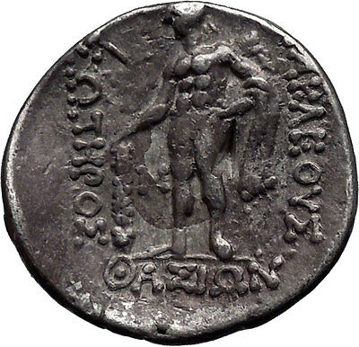 Celtic of Danube Silver Tetradrachm Greek Style Coin Similar to Thasos i44245