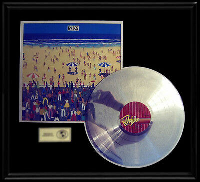 Inxs Self Titled Debut Rare Lp Gold Record Platinum  Disc Deluxe Album Frame