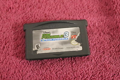 Disney's Kim Possible 3 Team Possible GAMEBOY ADVANCE