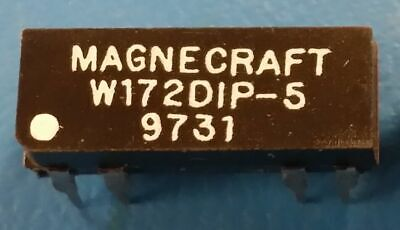 W172DIP-5, Magnecraft, Reed Relay, SPDT, 5VDC, 0.25A, THD
