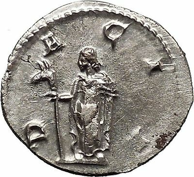 TRAJAN DECIUS 249AD Rare Silver Ancient  Roman Coin DACIA with ass's head i44263