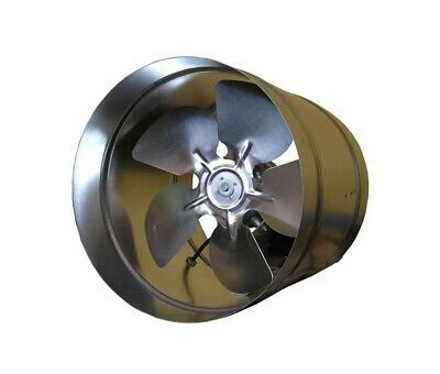 "Ducting InLine Extractor Fan 200mm 8"" 250mm 10'' 315mm 12"" Industrial Commercial"