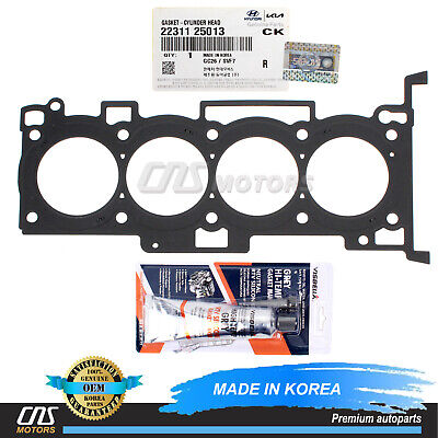 10-14 For Tucson Forte 2.0L MLS Cylinder Head Gasket & Silicone OEM 22311-25013