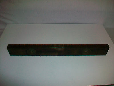 Vintage STANLEY RULE AND LEVEL ADJUSTABLE Level wood with brass pat. 1890