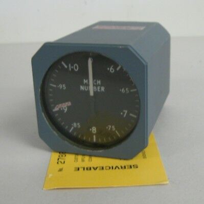 Boeing Aircraft Machmeter Indicator P/N KMA-1001
