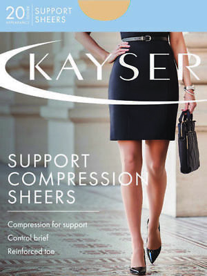 Kayser Sheer Support Pantyhose 20 Denier Firm Leg Support Silky H10860 | Tights