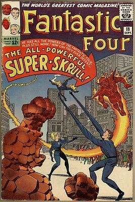 Fantastic Four #18 - G/VG - 1st Super-Skrull