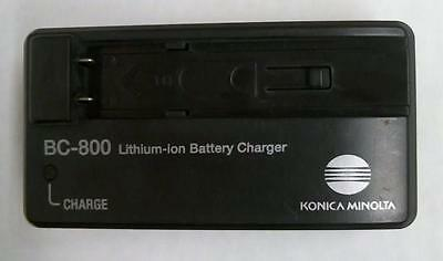 Genuine Konica Minolta BC-800 Camera Battery Charger for Dimage X50/X60 NP700