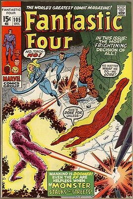 Fantastic Four #105 - FN/VF