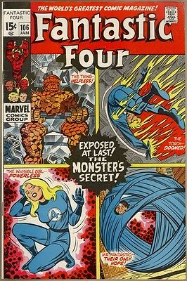 Fantastic Four #106 - FN/VF