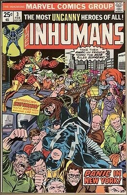 Inhumans #3 - VF+