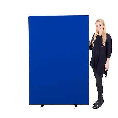 New Office Screen Partition Divider Panel 1200mm w x 1800mm h Nyloop - 3 Colours