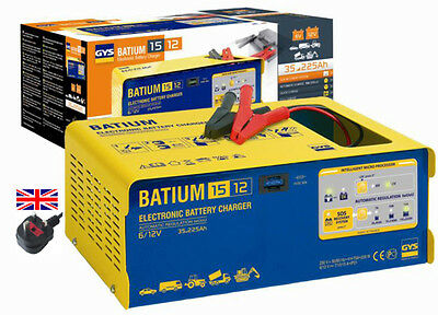 NEW GYS Professional Battery Charger Batium 15/12