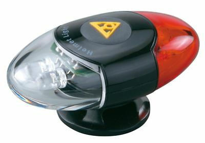 Topeak Headlux Cycle Bike Bicycle Helmet Torch Light Lamp Front + Rear LED