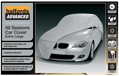 Halfords Advanced All Seasons Car Cover Extra Large Waterproof UV Ice Protection
