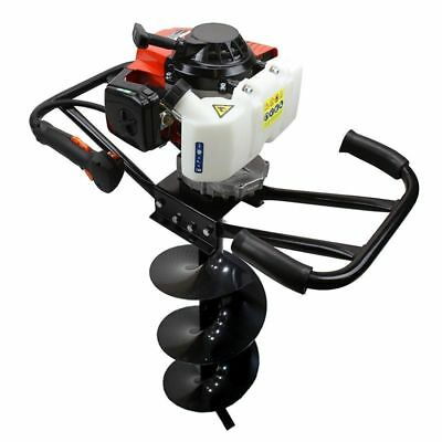 "EPA 3HP Two 2 Man 63cc Gas Post Earth Planting Hole Auger Digger Machine 10"" Bit"