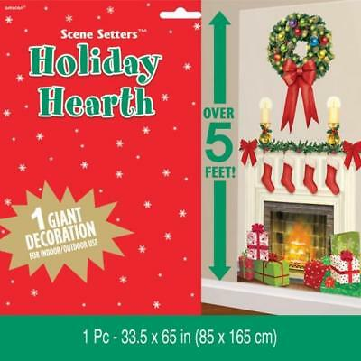 Christmas Holiday Hearth / Kamin Riesen Scene Setter Dekoration