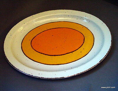 """Midwinter Stonehenge """"Sun"""" 13 1/2 """" Serving Platter Oven to Table England"""