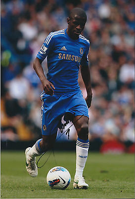 RAMIRES Signed Autograph 12x8 Photo AFTAL COA Chelsea BRAZIL Premier League