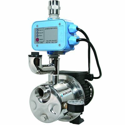 Burcam Pumps 16 GPM 3/4 HP Stainless Steel Shallow Well Dual App. Pump (Boost...