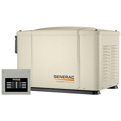 Generac PowerPact 7kW Home Standby Generator System (50-Amp 8-Circuit ATS)