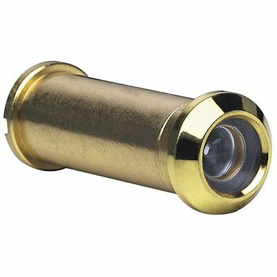 Stanley 61-0470 Solid Brass Wide Angle Door Viewer