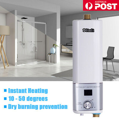 Bathroom Electric Water Heater Instantaneous Heating System for Tap/Faucet