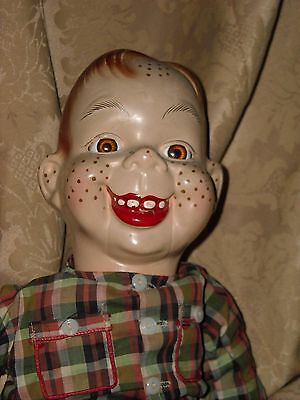 Howdy Doody Composition Doll 1940s!