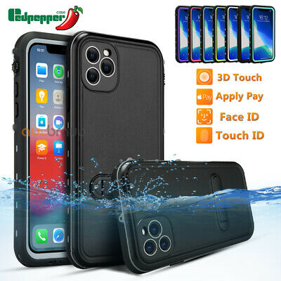 Waterproof Heavy Duty Tough Armor Case Cover For Apple iPhone X 8 6 6S 7 / Plus
