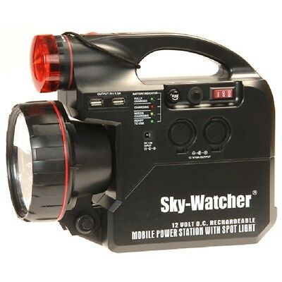 Sky-Watcher 7Ah Rechargeable Power Tank for Astronomy Telescopes 12v